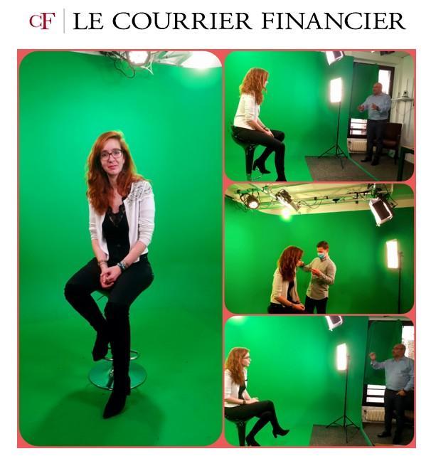 ACH en studio L'invité du Courrier Financier